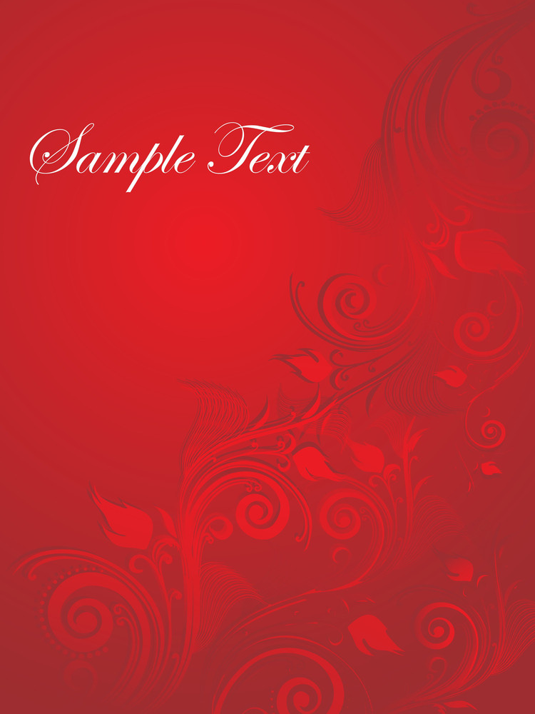 Floral Sample Text Background Series Design26