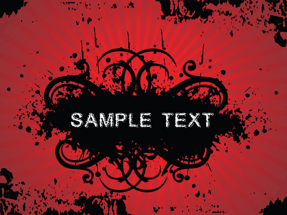 Floral Sample Text Background Series Design38
