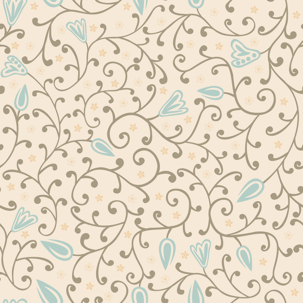 Floral Seamless Texture.