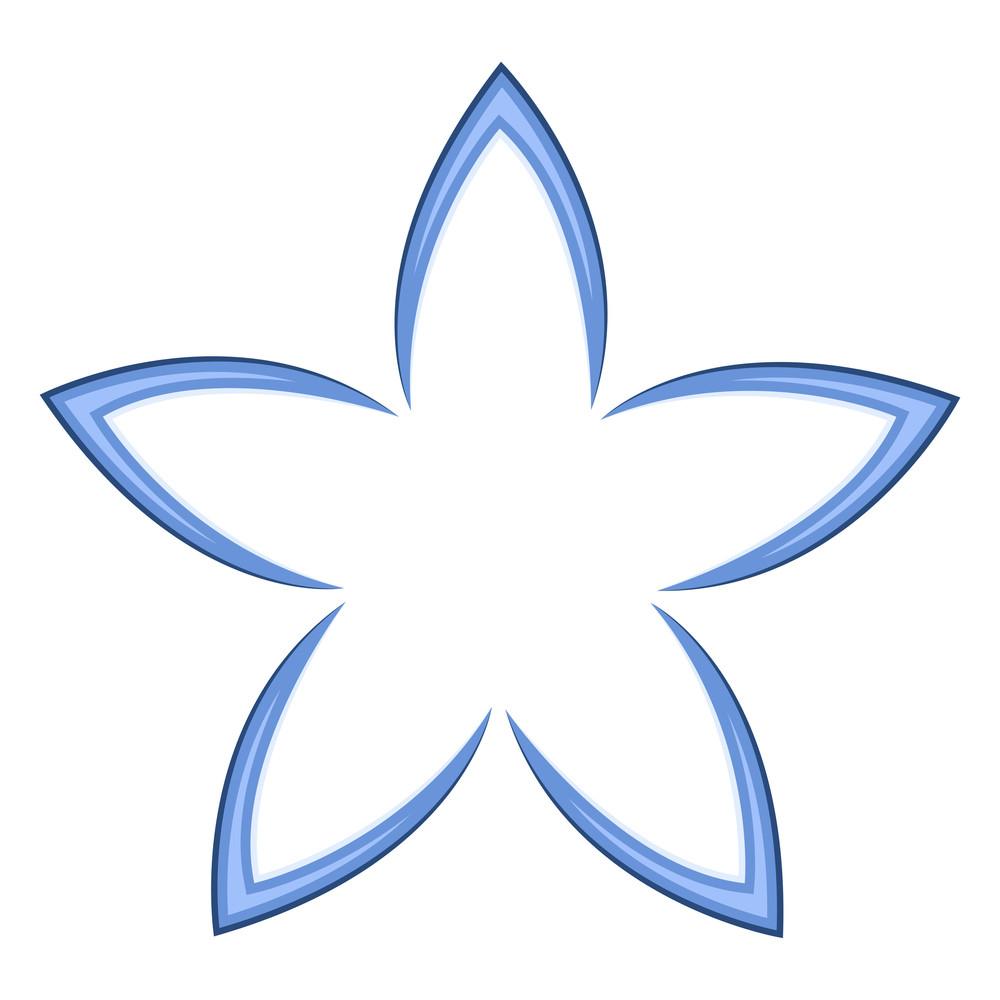 Floral Star Design
