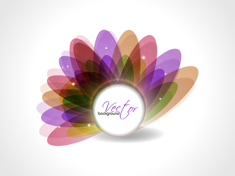 Floral Vector Abstract Background