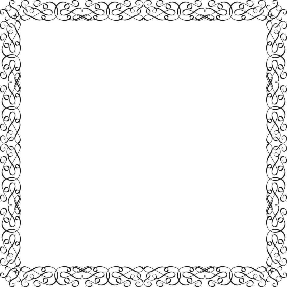 Floral Vector Ornament