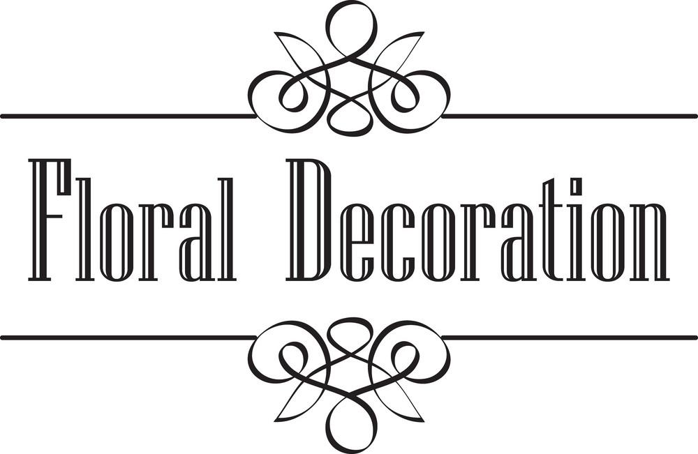 Floral Vector Ornament