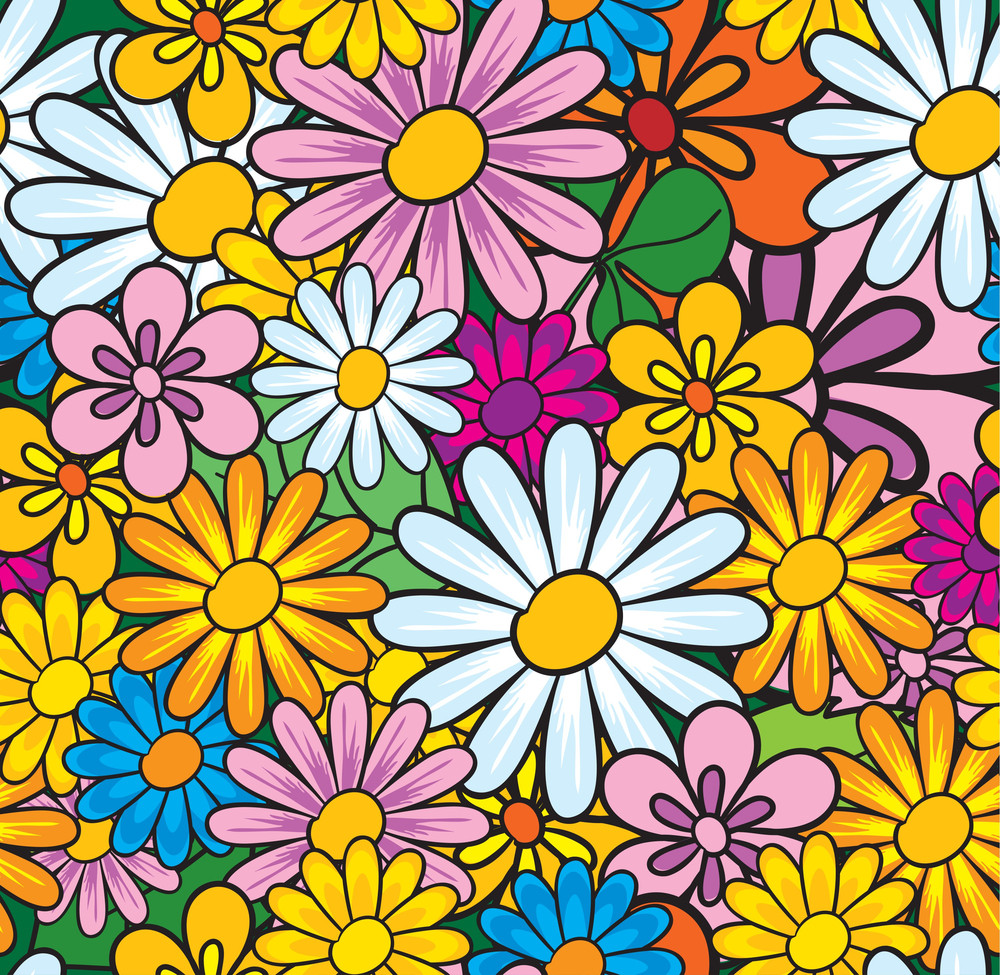 Floral Vector Seamless.