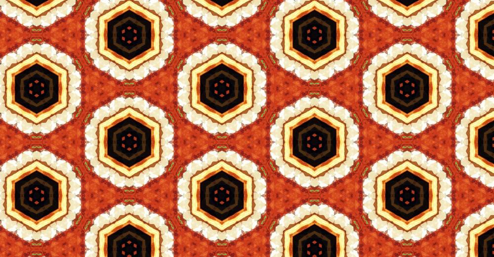 Flourish Abstract Pattern