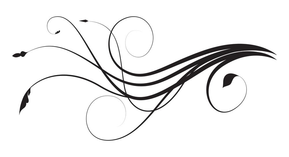 Flourish Design Art Elements