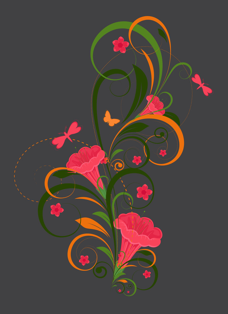 Flourish Design Decorative Element Design