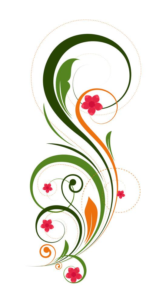 Flourish Design Element