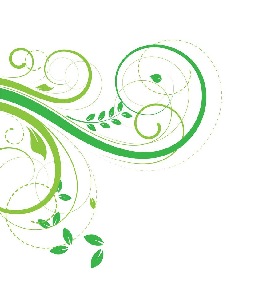Flourish Elements Background