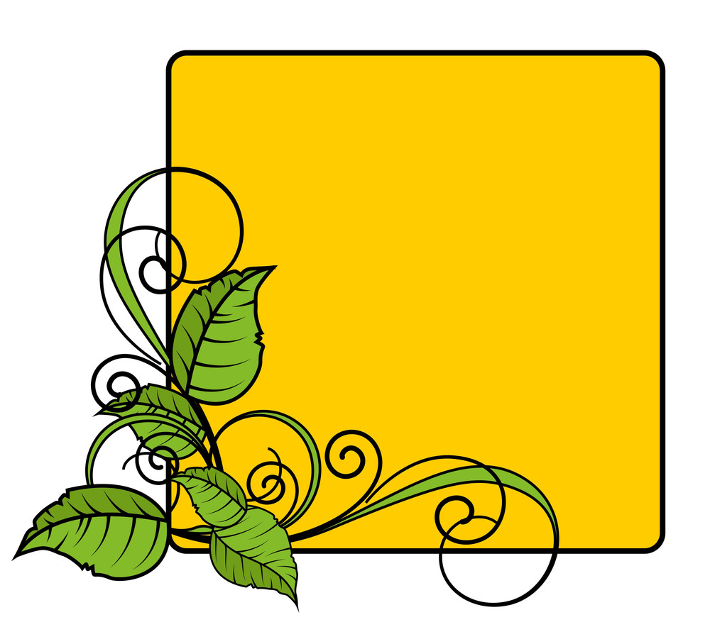 Flourish Frame Design