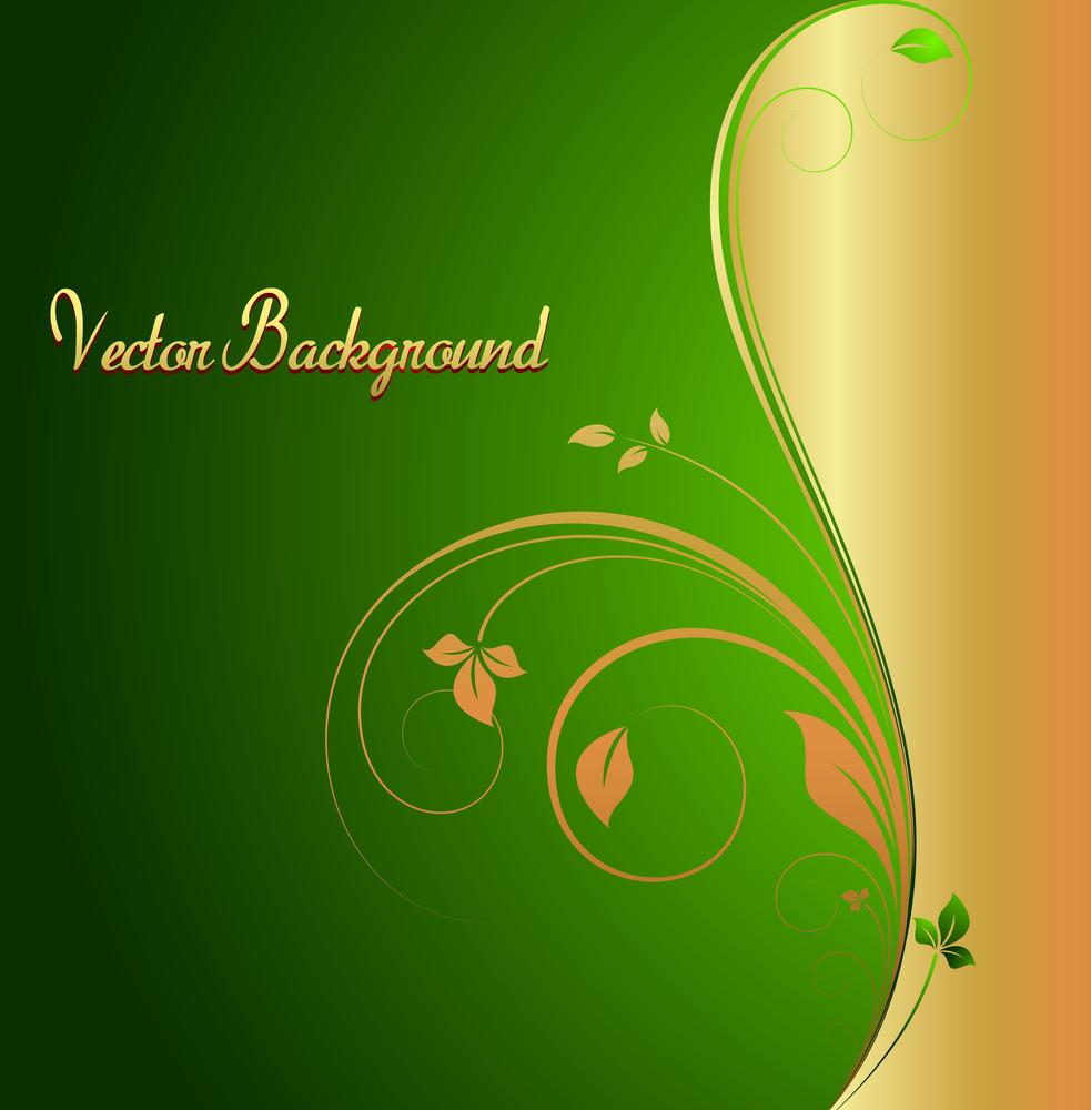 Flourish Holiday Background