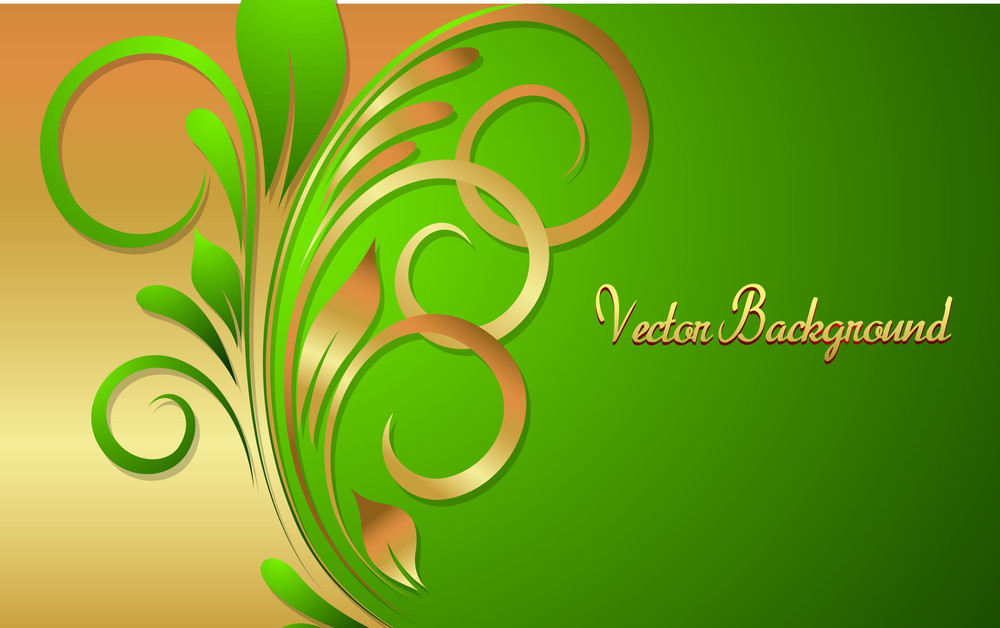 Flourish Holiday Background