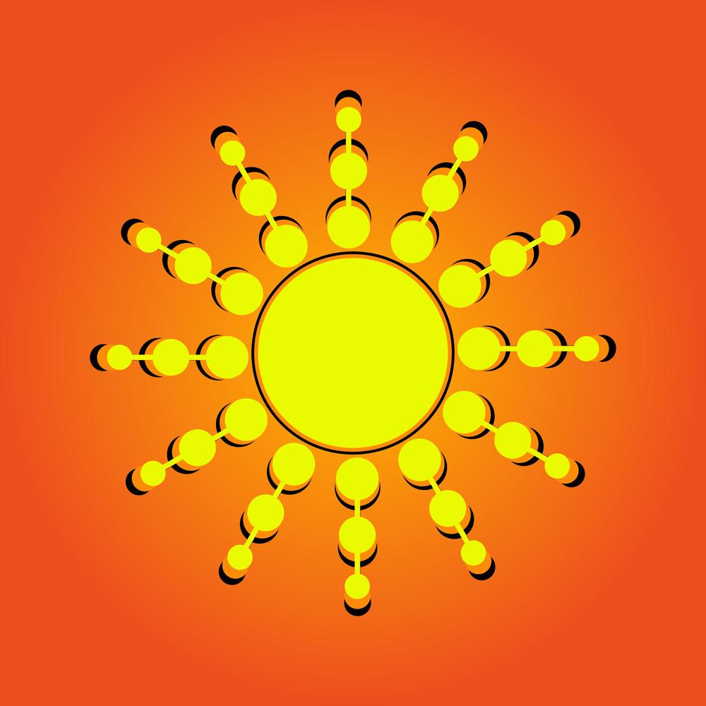 Flourish Sun Element