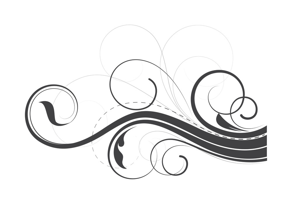 Flourish Swirl Elements