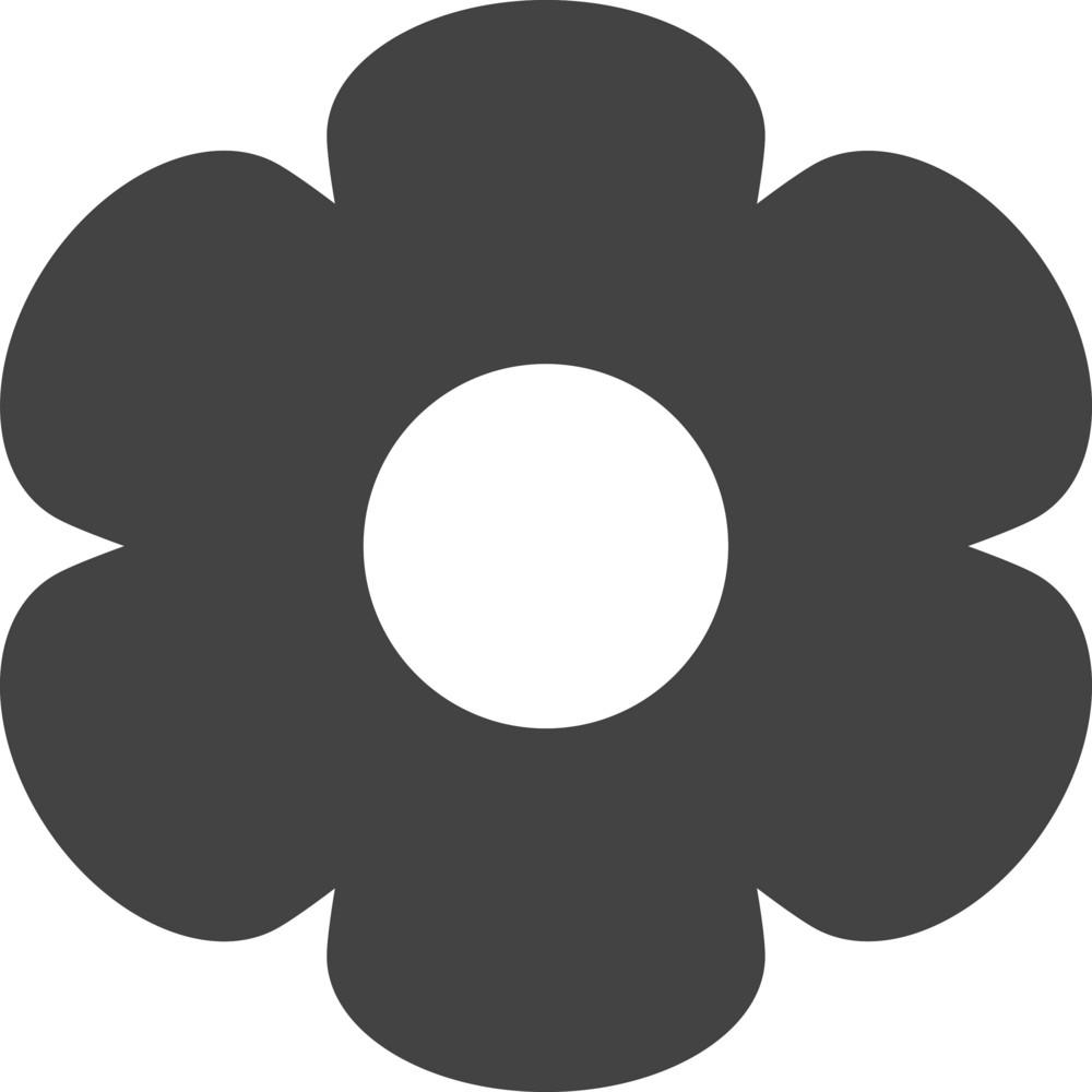 Flower 3 Glyph Icon