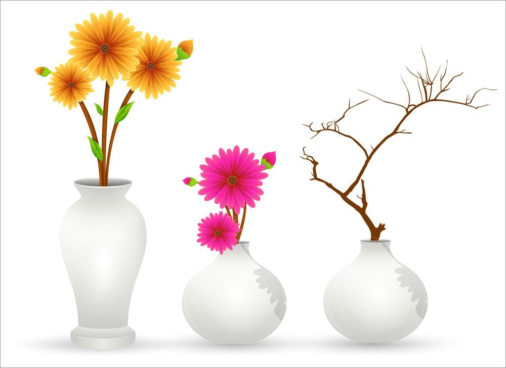 Flower Pot Vectors