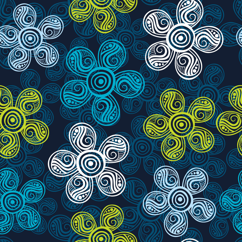 Flower Seamless Pattern Pattern