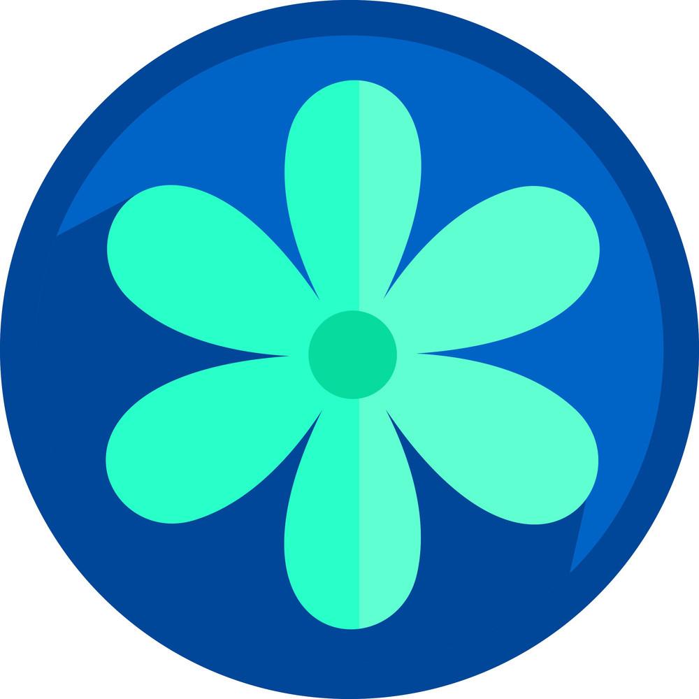 Flower Shape Icon