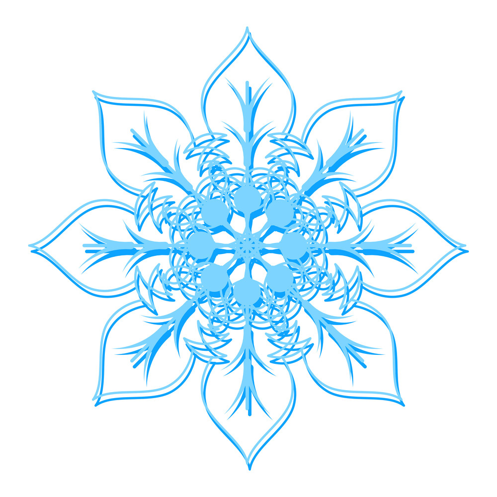 Flower Snowflake