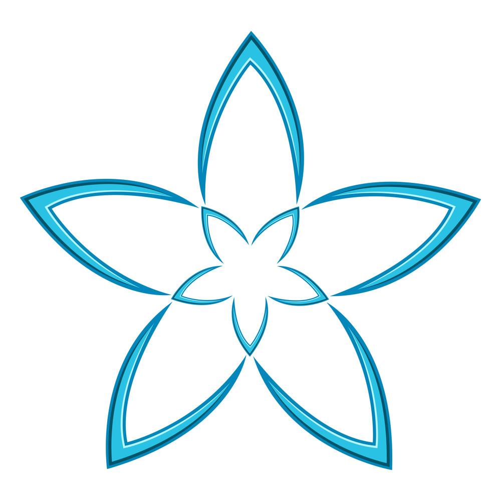 Flower Style Star