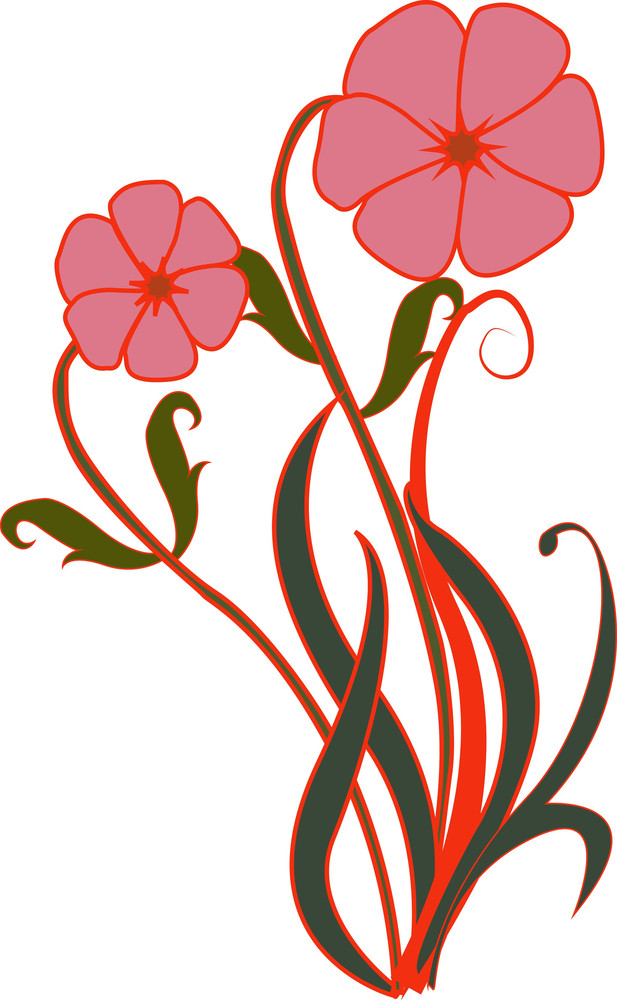 Flower Vector Clipart