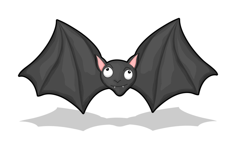 Flying Bat Vector