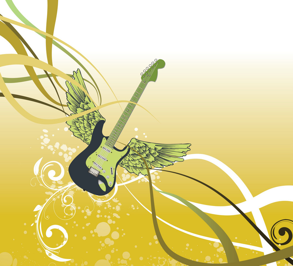 Flying Guitar
