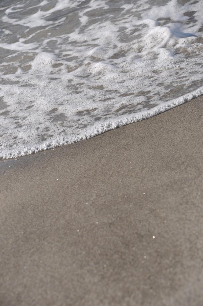 Foam On Sand