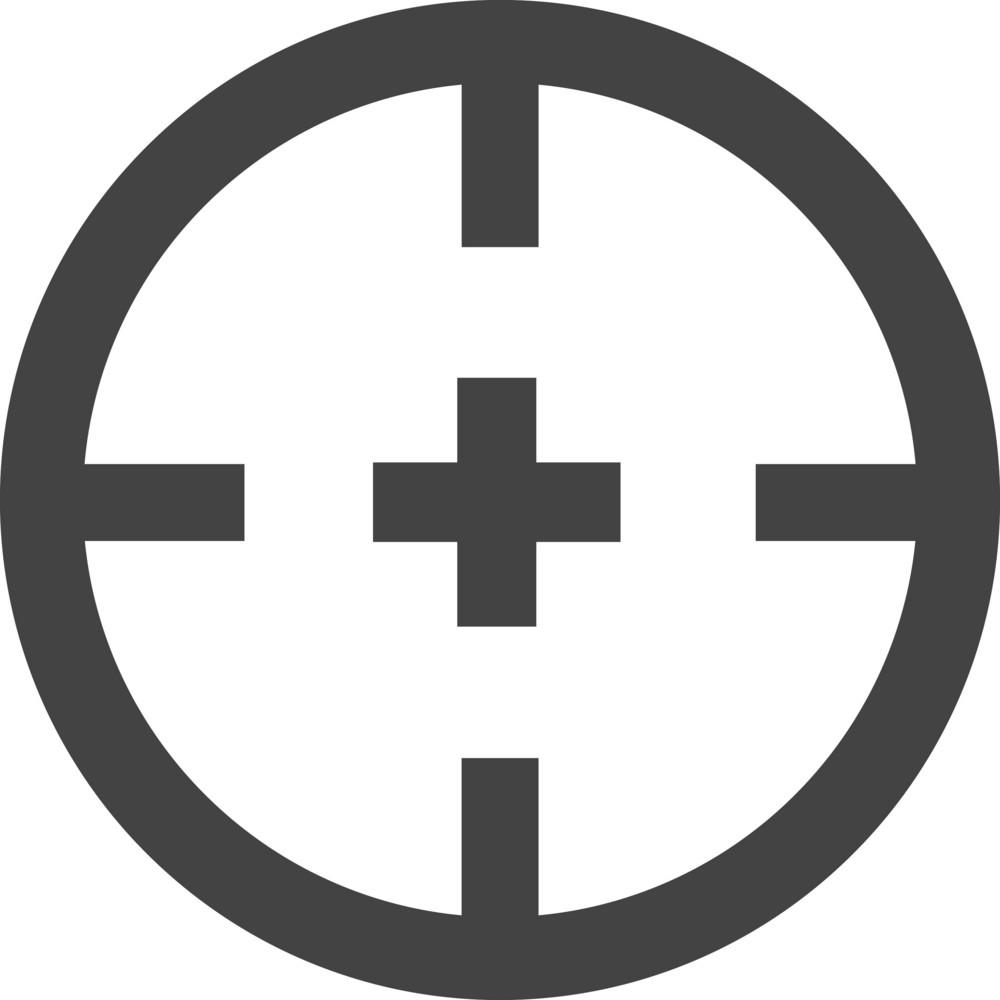Focus Glyph Icon
