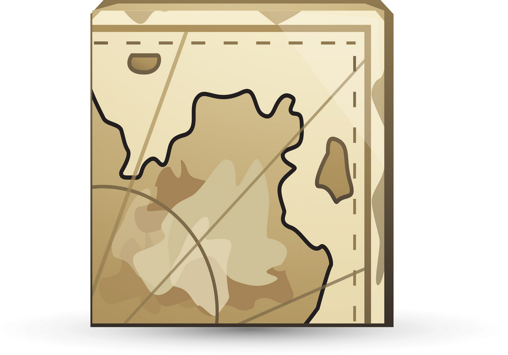 Folded Map Lite Application Icon