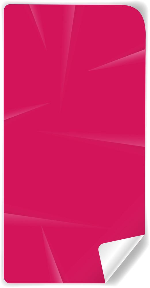 Folded Paper Banner Vector