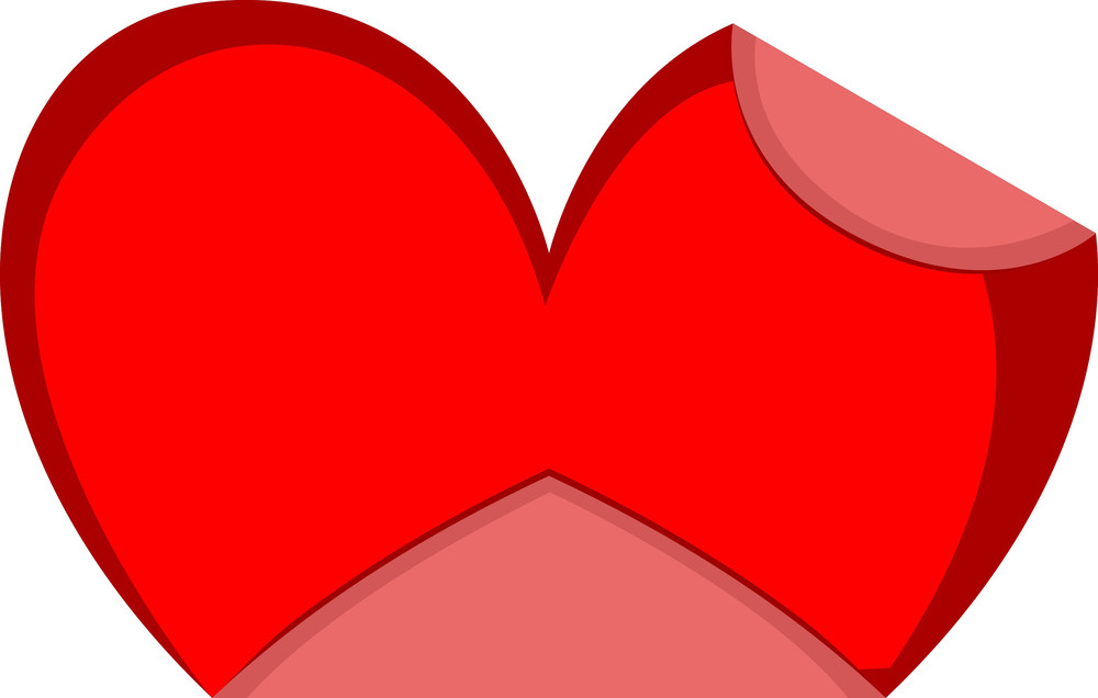 Folded Paper Heart