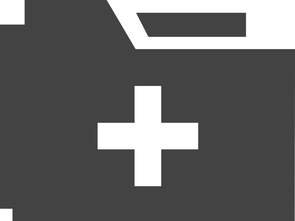 Folder Add Glyph Icon