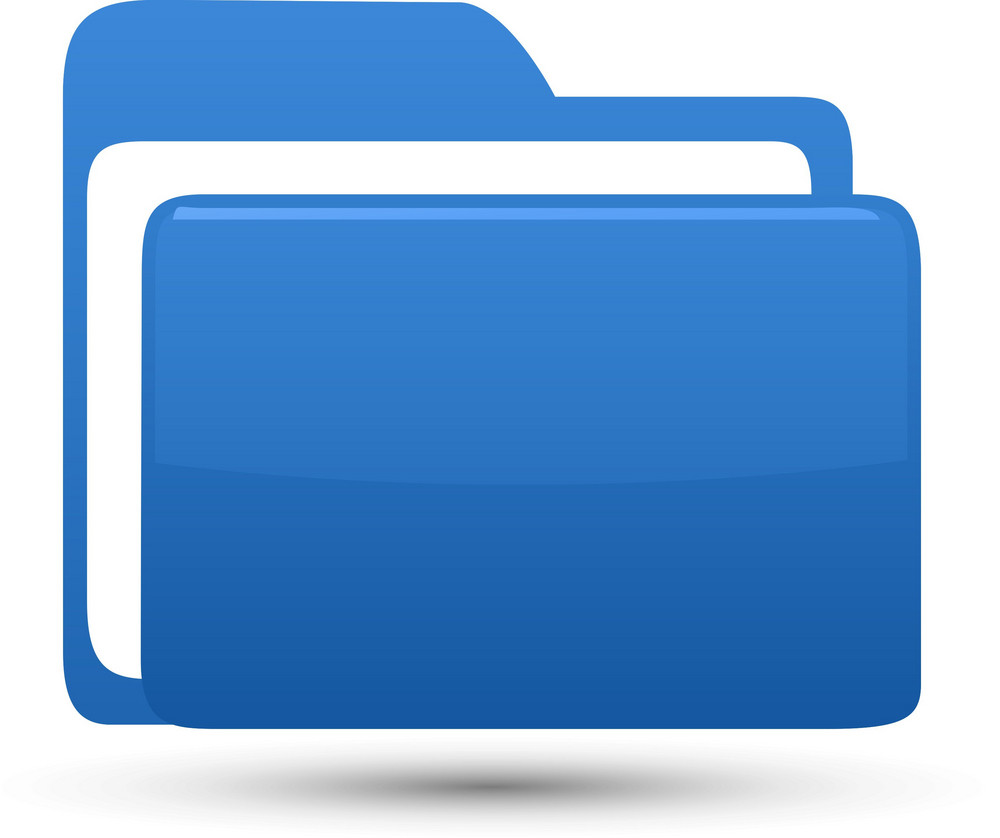 Folder Blue Lite Computer Icon
