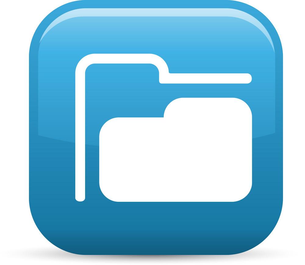 Folder Elements Glossy Icon