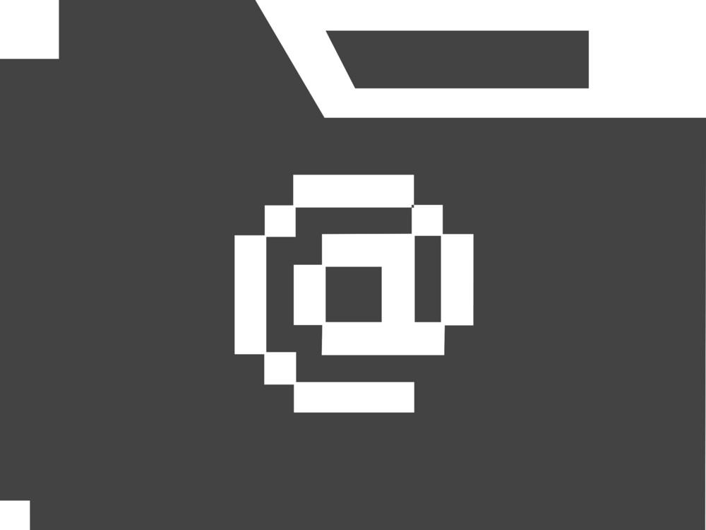Folder Email Glyph Icon