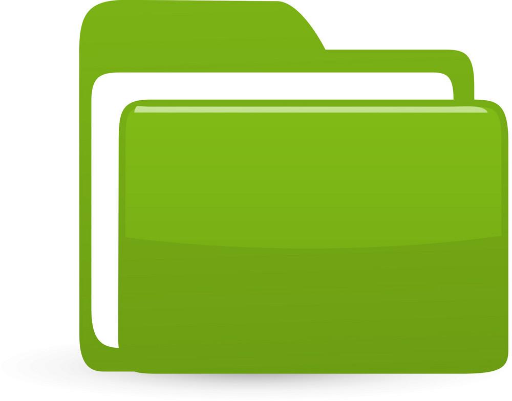 Folder Green Lite Computer Icon