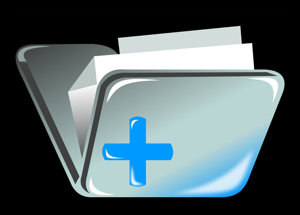 Folder Icon With Cross