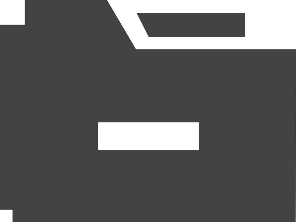 Folder Remove Glyph Icon