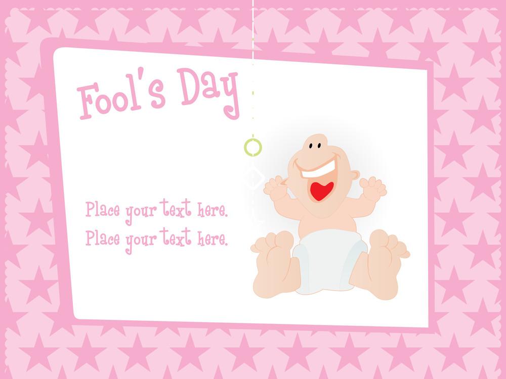 Fools Day Gretting Card