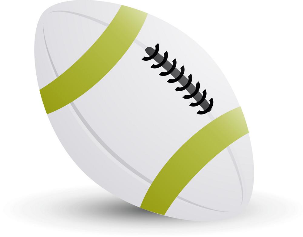 Football White Lite Sports Icon