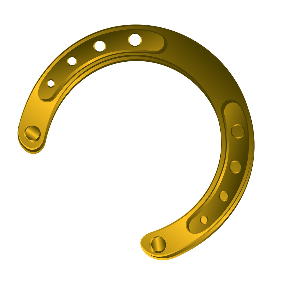 Fortune Horseshoe Vector