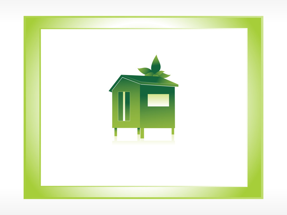 Frame Of Green House