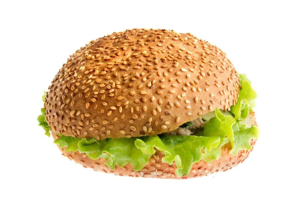 Fresh Burger With Tuna