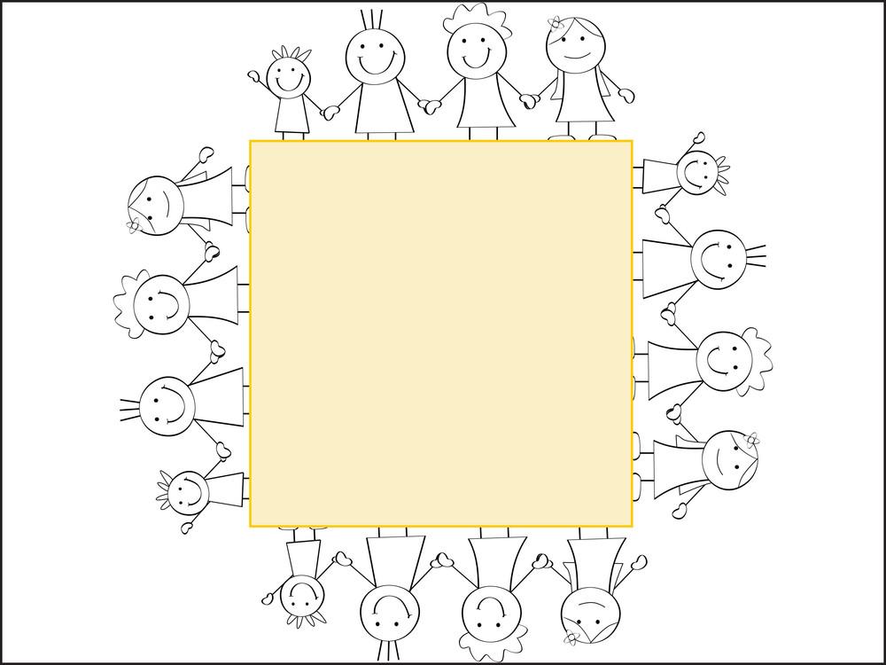 Friendship Day Background Frame