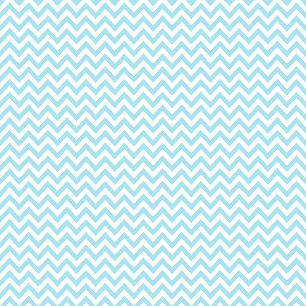 Blue And White Chevron Pattern On Frozen Inspired Paper