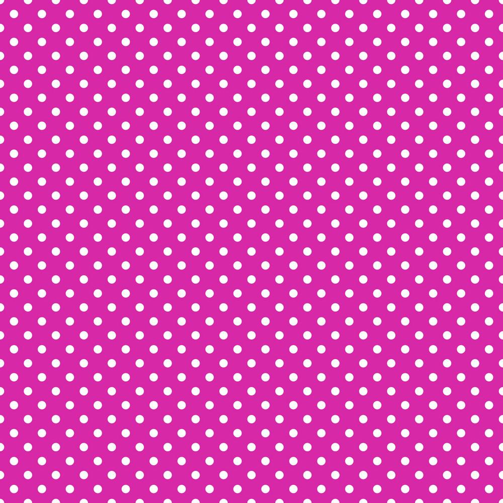White Polka Dot Pattern On Purple Frozen Inspired Paper