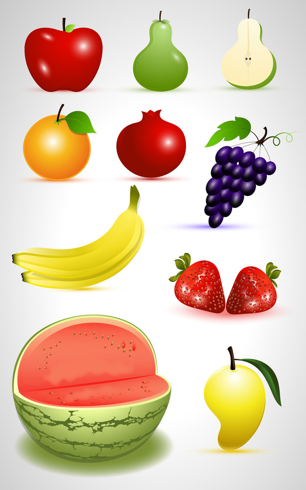 Fruits Vectors