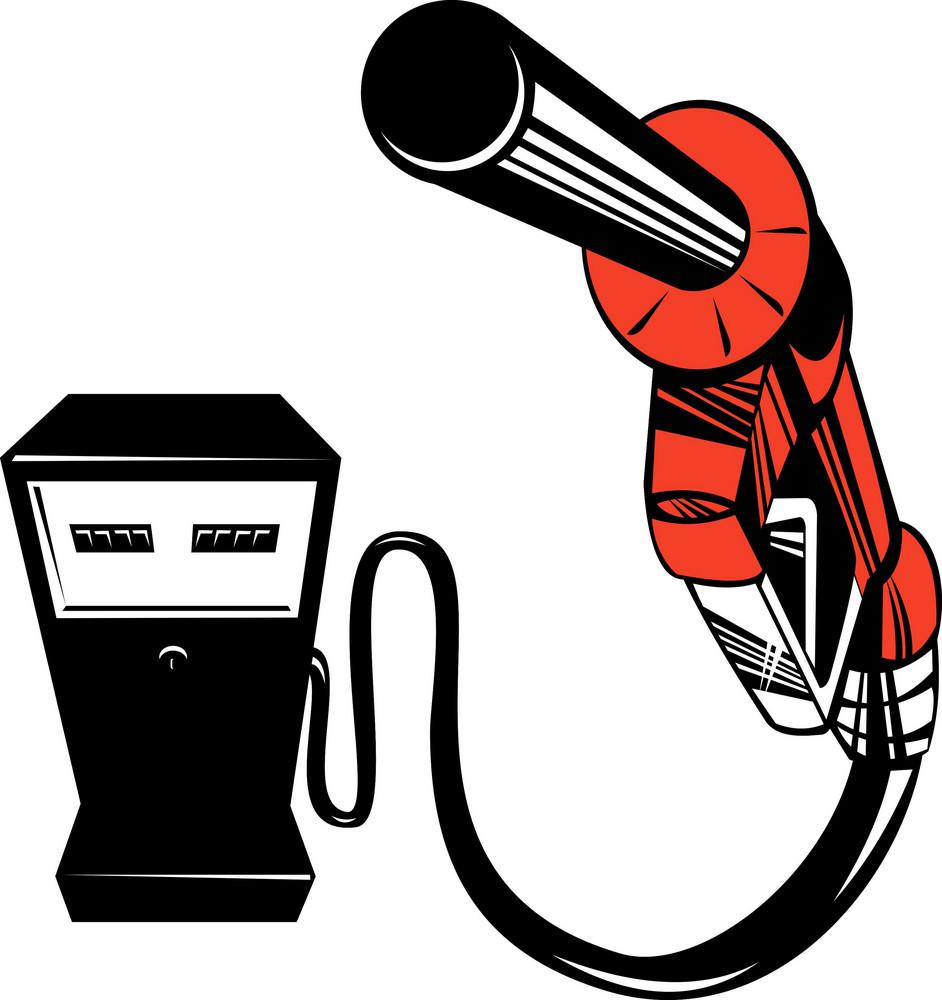 Fuel Pump Station Nozzle Retro