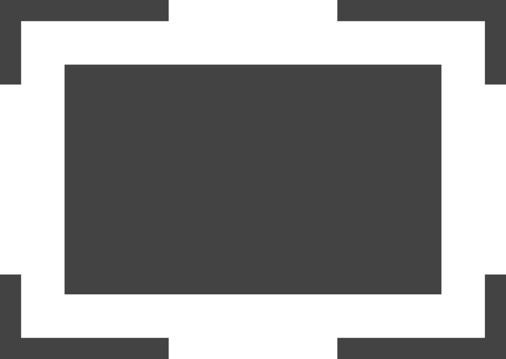 Full Screen 1 Glyph Icon